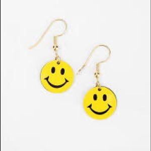 """Jewelry - """"Smiley"""" Face Pierced Earrings"""